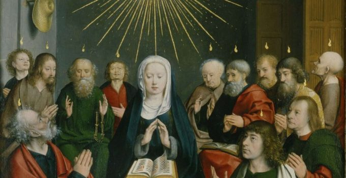 Pentecost, by Jan Joest 1505-1508