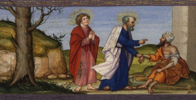 St. Peter Healing the Crippled Beggar
