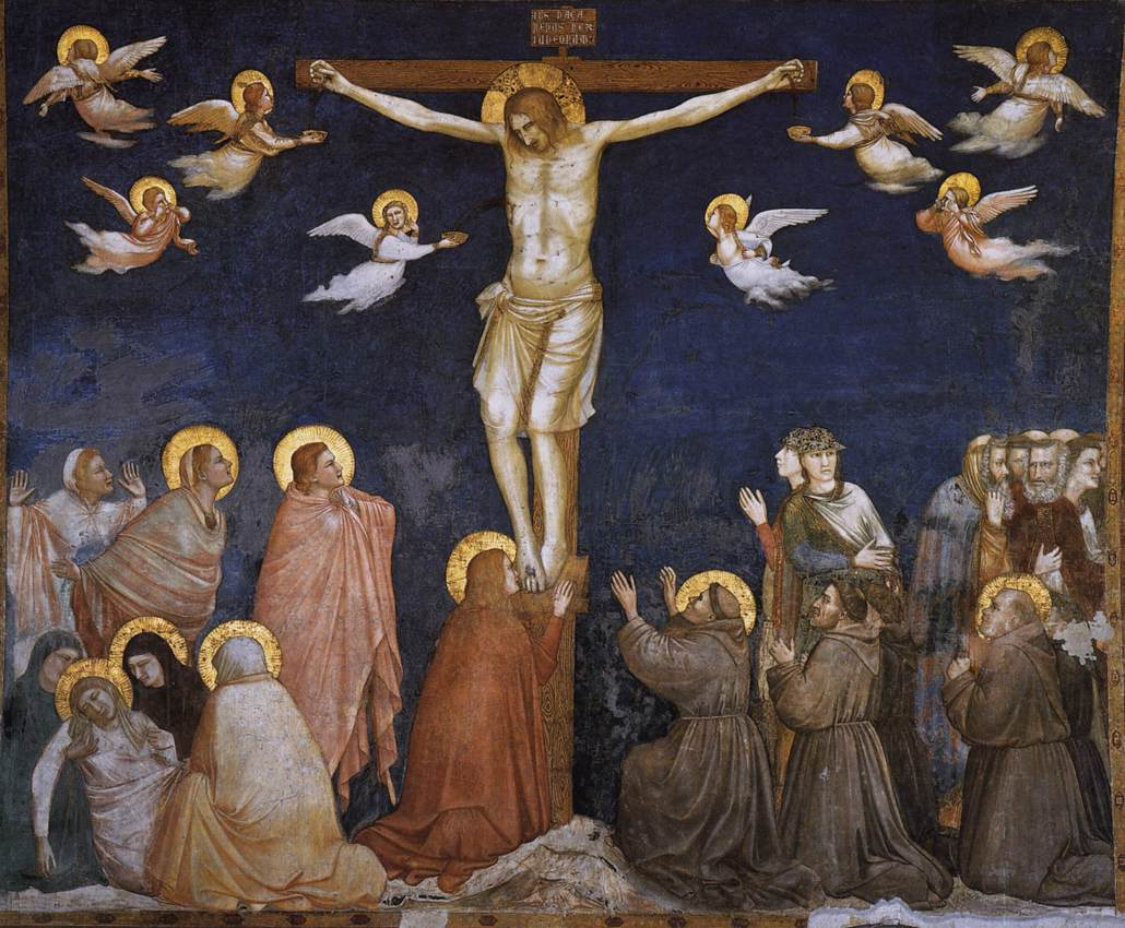 The Crucifixion Giotto, Basilica of Saint Francis of Assisi