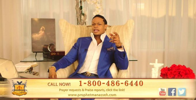 Call now for expensive prayer from Manasseh Jordan