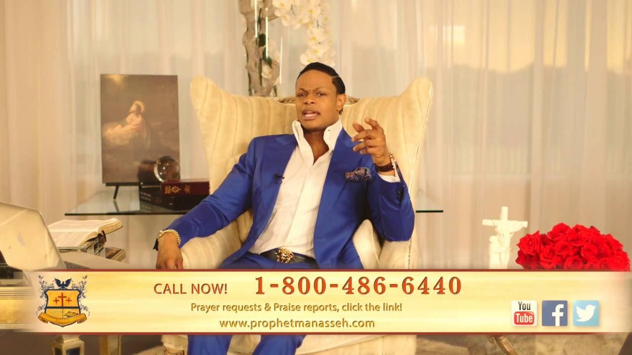 Call now for expensive prayer from Manasseh Jordan