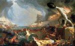 Cole Thomas The Course of Empire Destruction 1835