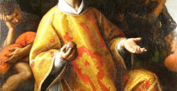Fabrizio Santafede - St. Stephen the Martyr
