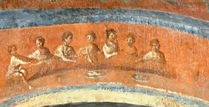 Fresco of the Women, Catacombs of Priscilla