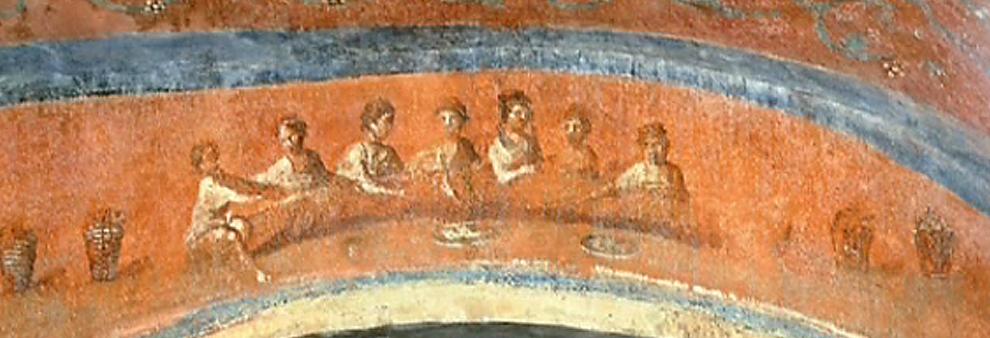 Fresco of the Women, Catacombs of Priscilla