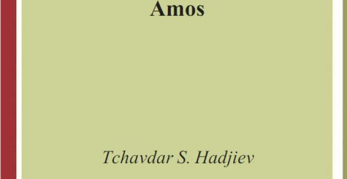 The Composition and Redaction of the Book of Amos, eCover