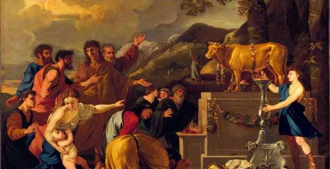 Adoration of the Golden Calf, by Andrea di Lione