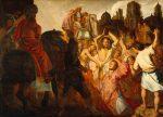 Rembrandt, Stoning of Saint Stephen
