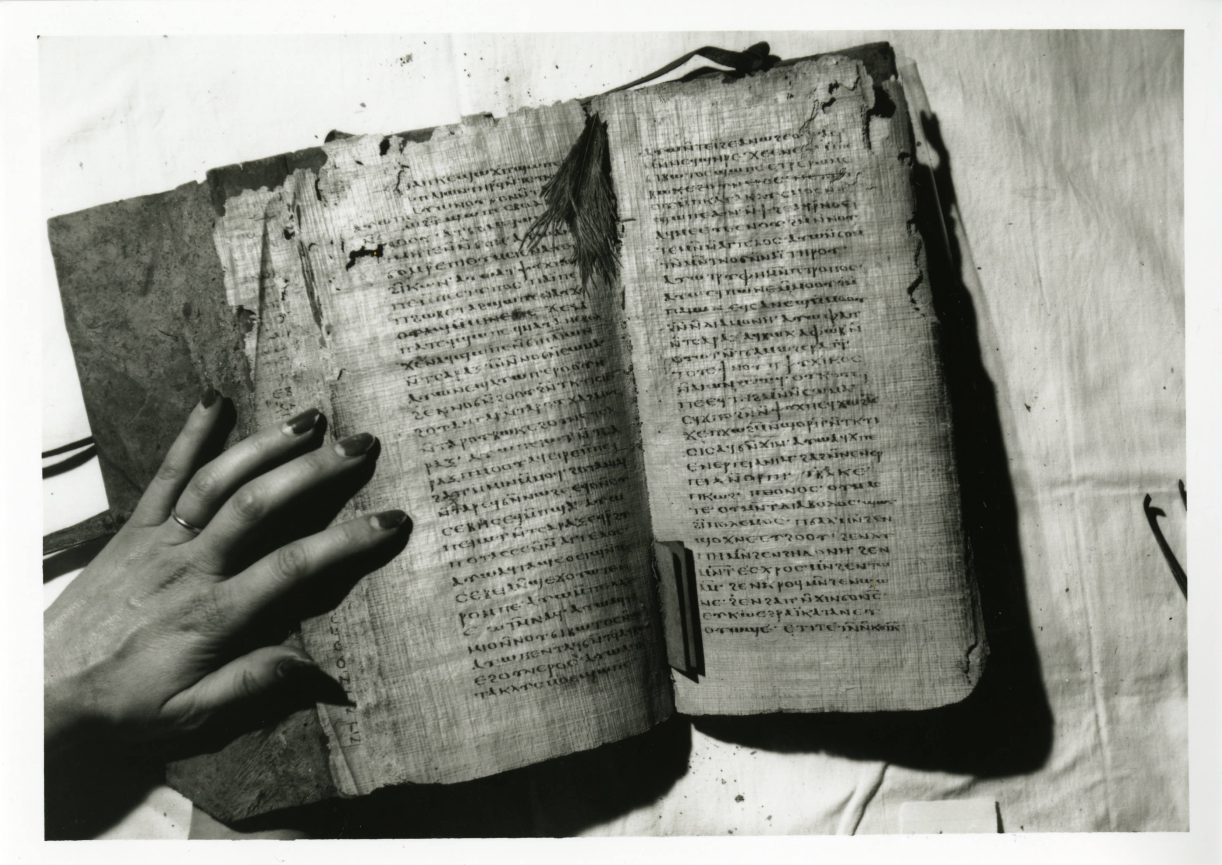 Nag Hammadi Codex VI Opened