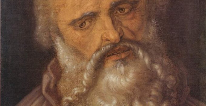The Apostle Philip, by Albrecht Durer