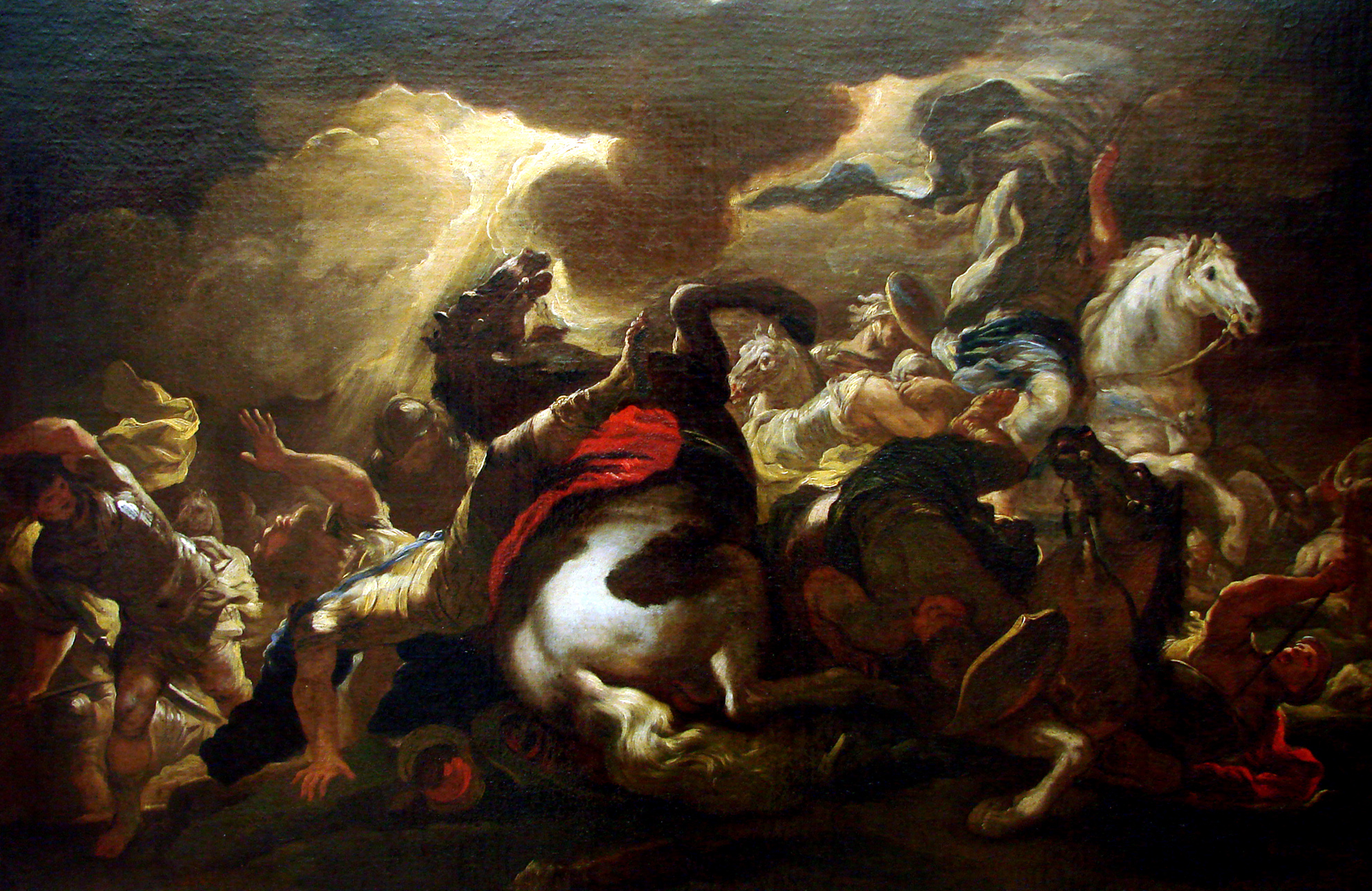 The Conversion of Saint Paul, by Giordano Nancy