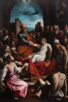 Fabrizio Santafede - Saint Peter raises Tabitha