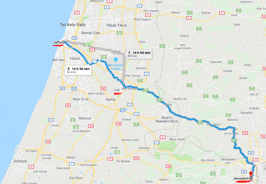 Joppa to Jerusalem