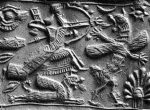 Babilónica Marduk Kills Tiamat
