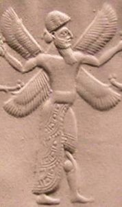Cherub on a Neo Assyrian seal