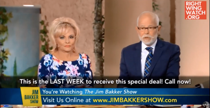 Jim Bakker Predict Civil War After Impeachment