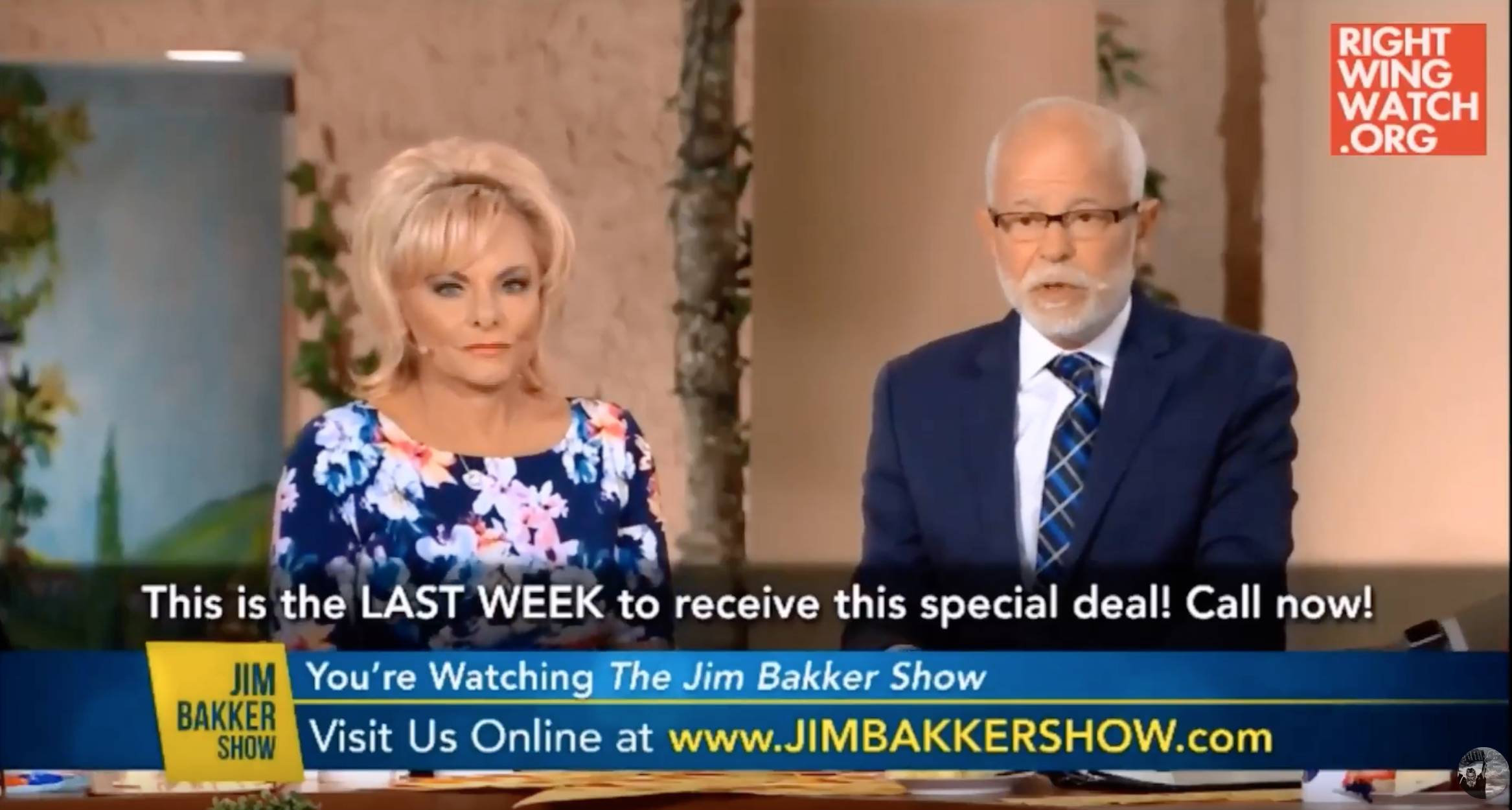 In 2017 Jim Bakker Predicted That Trump Impeachment Would Trigger Christian Civil War…… Will He Repent From His Prediction When It Fails?