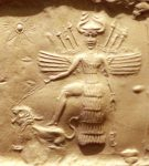 Ishtar on Akkadian Seal