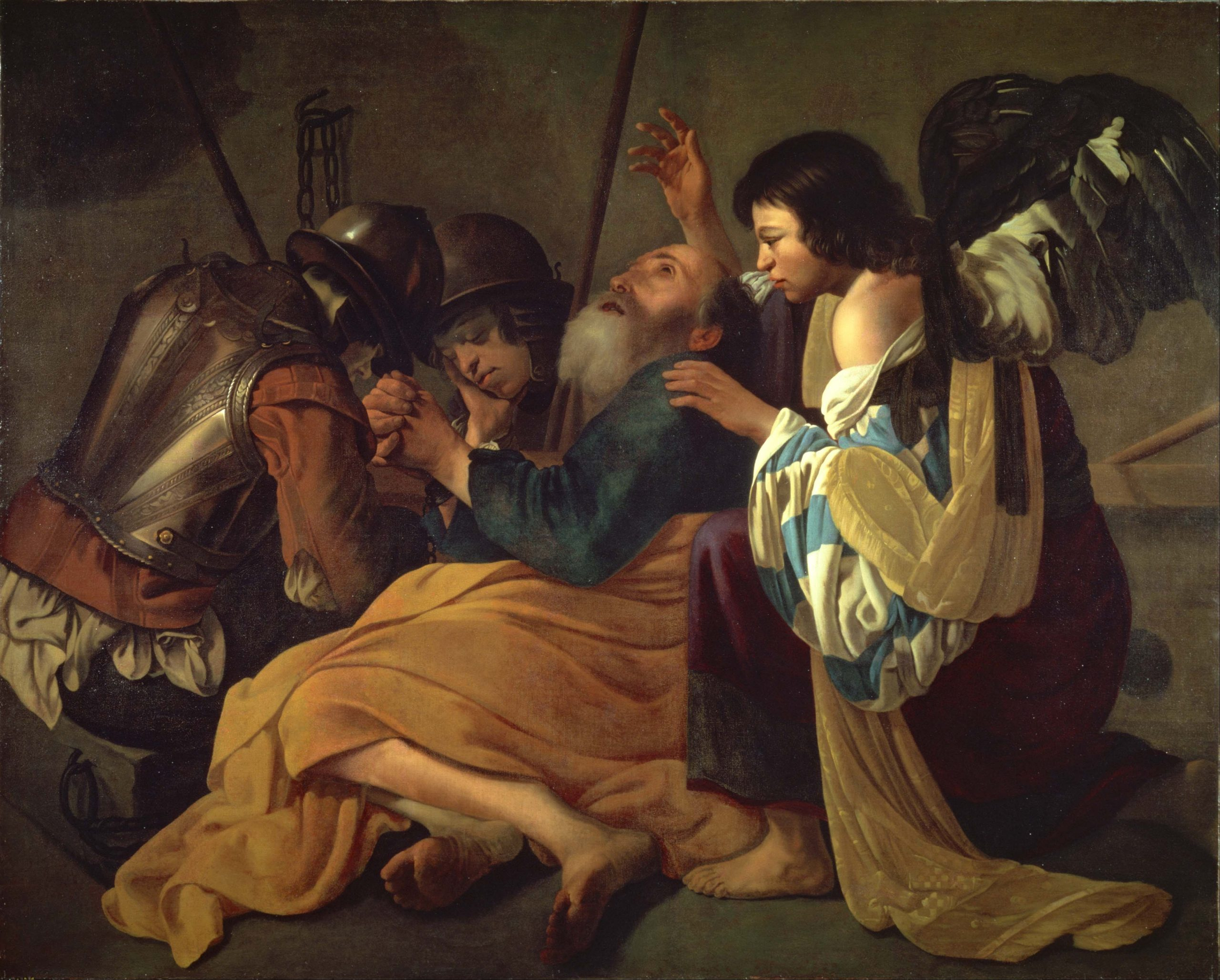 Hendrick Terbrugghen, The Liberation of Saint Peter