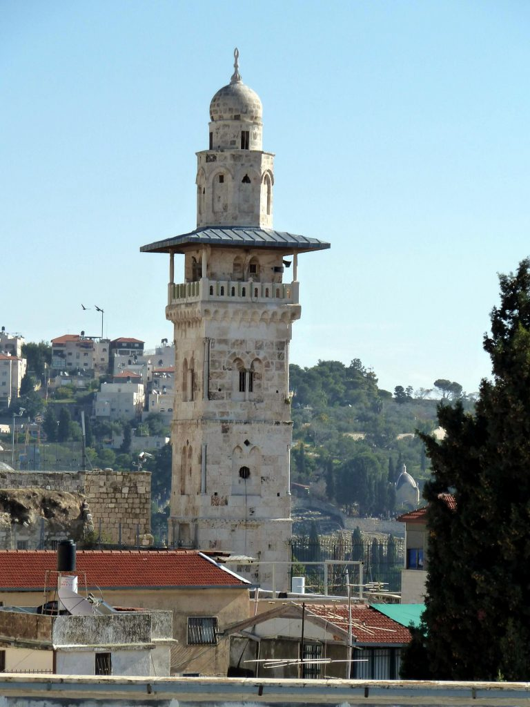 Old Jerusalem Antonia tower
