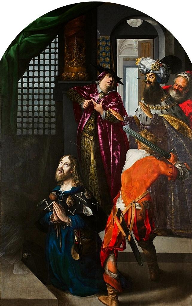 Շտրոբել, Մեծն Սուրբ Յակոբոսի գլխատումը