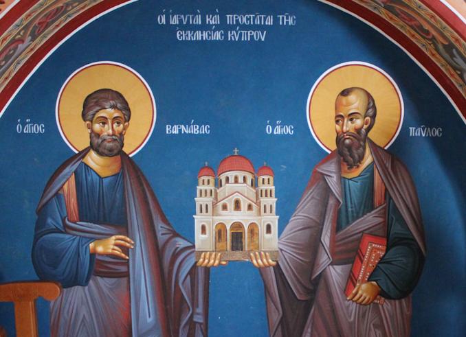 Պողոս և Բառնաբաս եկեղեցիները Կիպրոսում