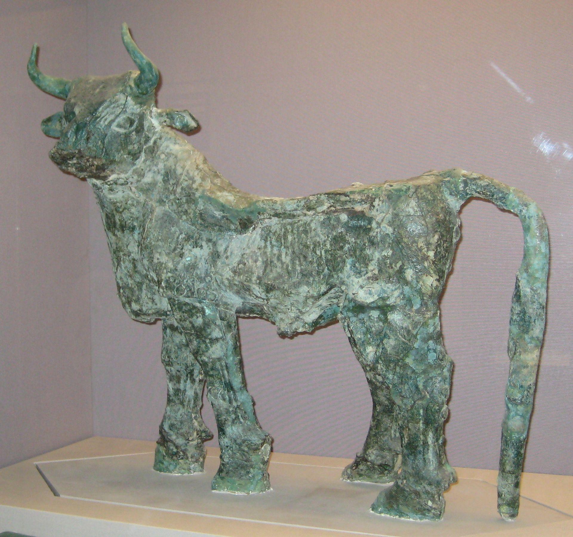 British Museum Copper Bull